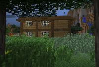 "Minecraft ""herobrine"" house . Minecraft Project"