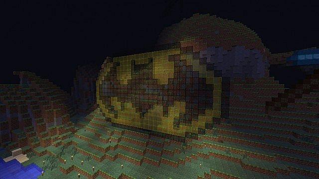 Minecraft Pikachu Mustache
