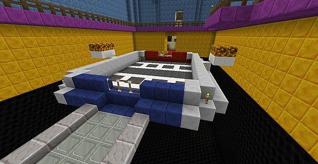 Yu Gi Oh Duelist Kingdom Tournament Island Minecraft