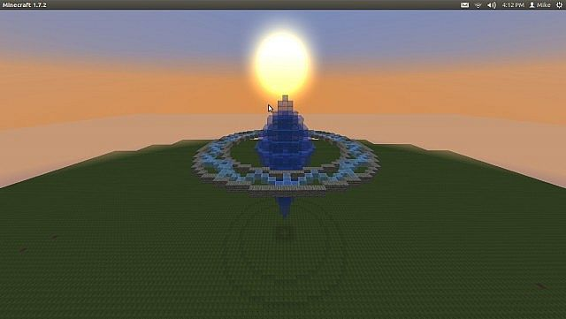 Water Crystal and Rune circle Minecraft Project