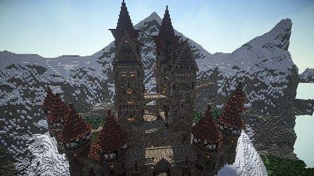Rex] Medieval Fantasy Castle Minecraft Map