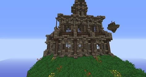 minecraft medieval build pack church