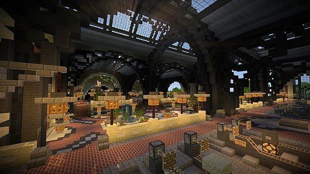 Railway Station 1 Map 7 Fairdown Minecraft Project
