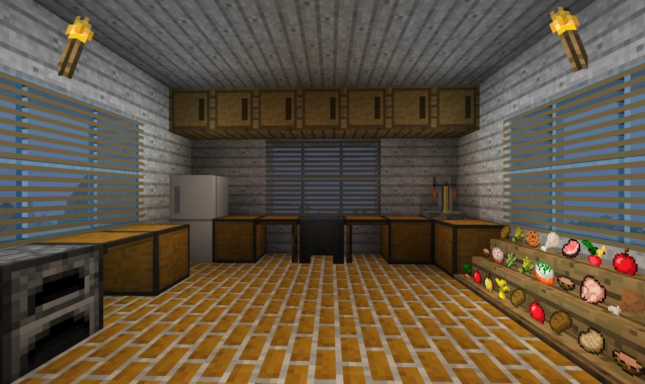 kitchen cabinet blueprints movable cabinets minecraft : should there be more decor? blog