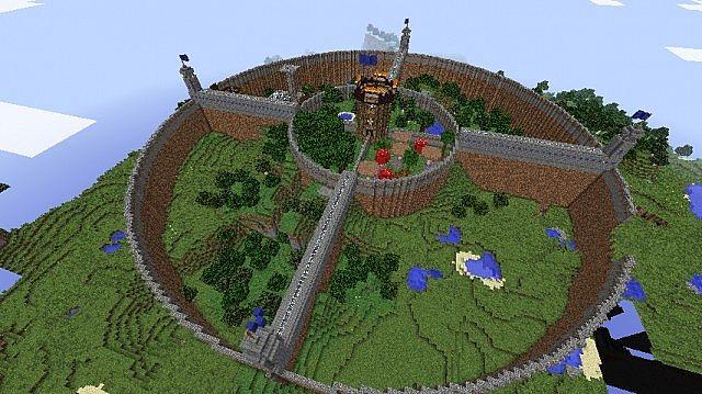 Phoenicia The Circular City Minecraft Project