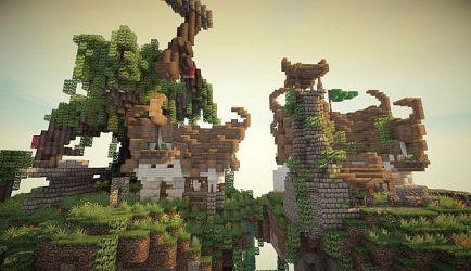 elven build minecraft pack building blacksmiths