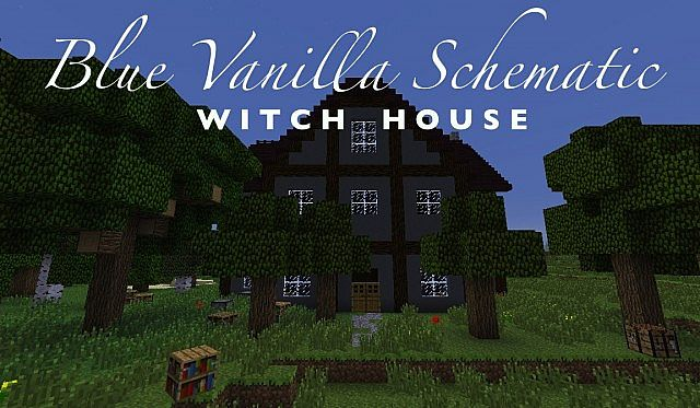 BV Witch House Minecraft Project