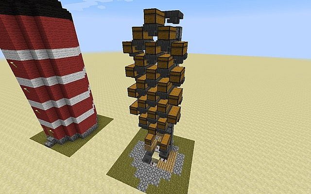 Automatic Storage Silo with a lot of space Minecraft Project