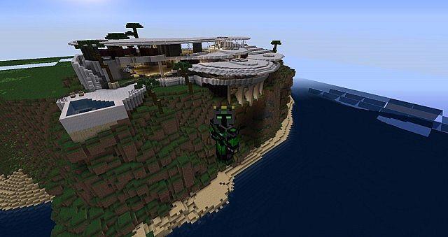 Tony Stark Iron Mans House Minecraft Project