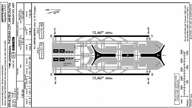 Phoenix International Airport [2:1] [WIP] Minecraft Map