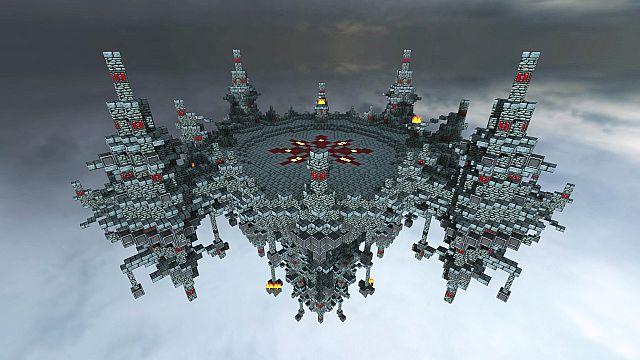 Flying Mini Spawn Minecraft Project