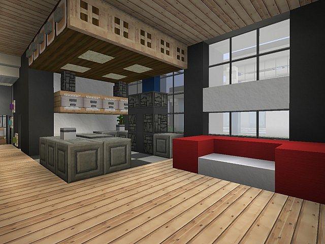 Minecraft Modern Hotel 2 Minecraft Project
