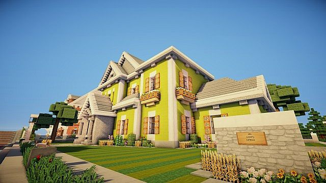 Traditional Mansion Minecraft Project
