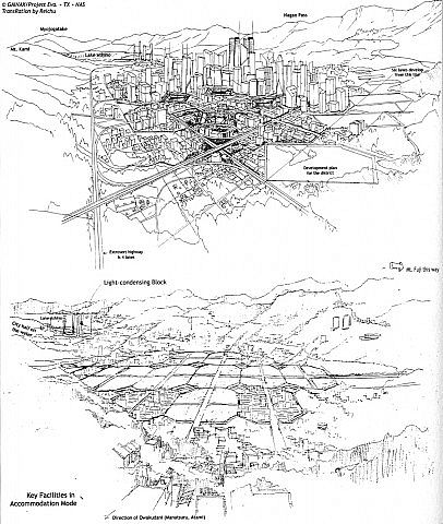 Neo Tokyo-3 Minecraft Project
