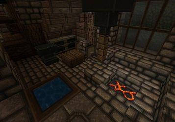 blacksmith area forging medieval minecraft