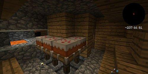 mini pocket village map blacksmiths floor inside minecraft