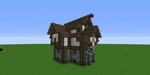 casa medieval minecraft hosue project planetminecraft