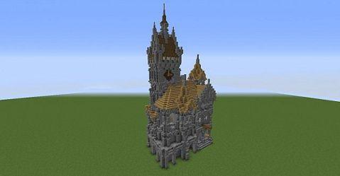 hall medieval town minecraft 3d announcement schemagic viewer feature