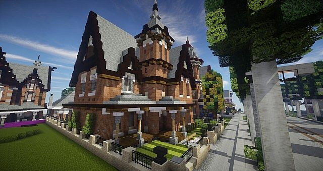 Victorian House  World of Keralis Minecraft Project