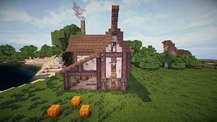 blacksmith medieval minecraft front