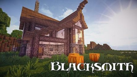 blacksmith medieval minecraft planetminecraft