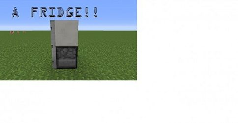 refrigerator minecraft diamonds