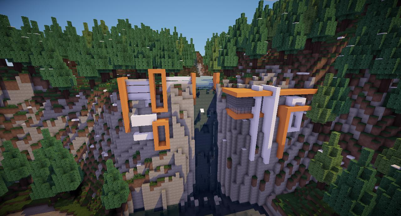 Modern Cliff House Minecraft House And Home Design