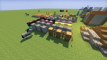 clash clans walls minecraft pack levels building