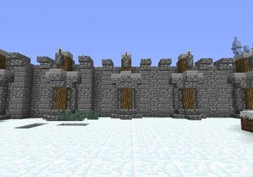 wall medieval minecraft project planetminecraft