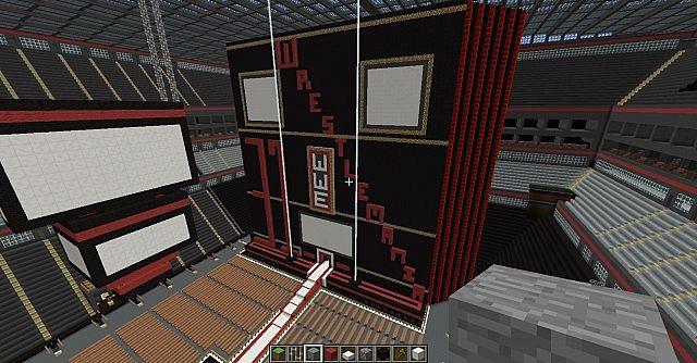 Wwe Stadium basketball arena tennis stadium STADIUM CITY Minecraft Project