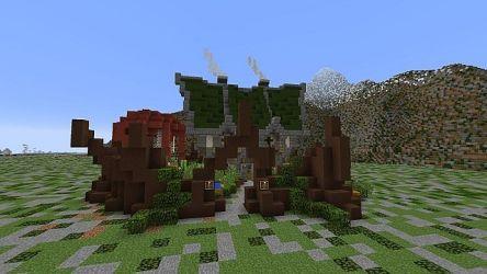Small fantasy house Minecraft Map