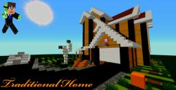 minecraft town square map traditional