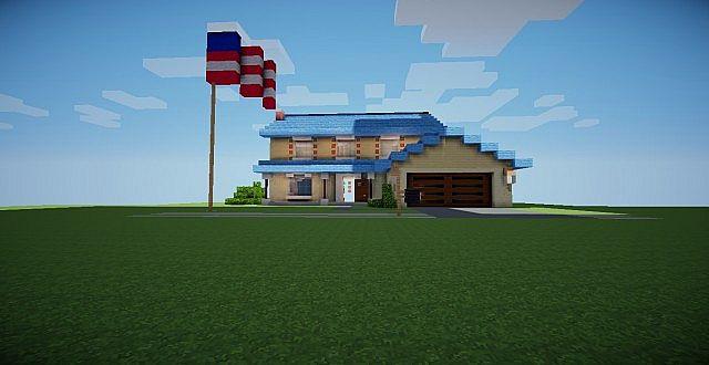 AmericanDad House Minecraft Project