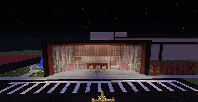 MINECRAFT CINEMA AND IMAX THEATER Minecraft Project