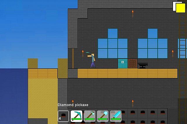 2d Minecraft Game MACPC MACROCOSM V018 Texture