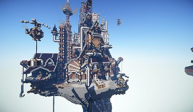 Steampunk Factory Minecraft Project