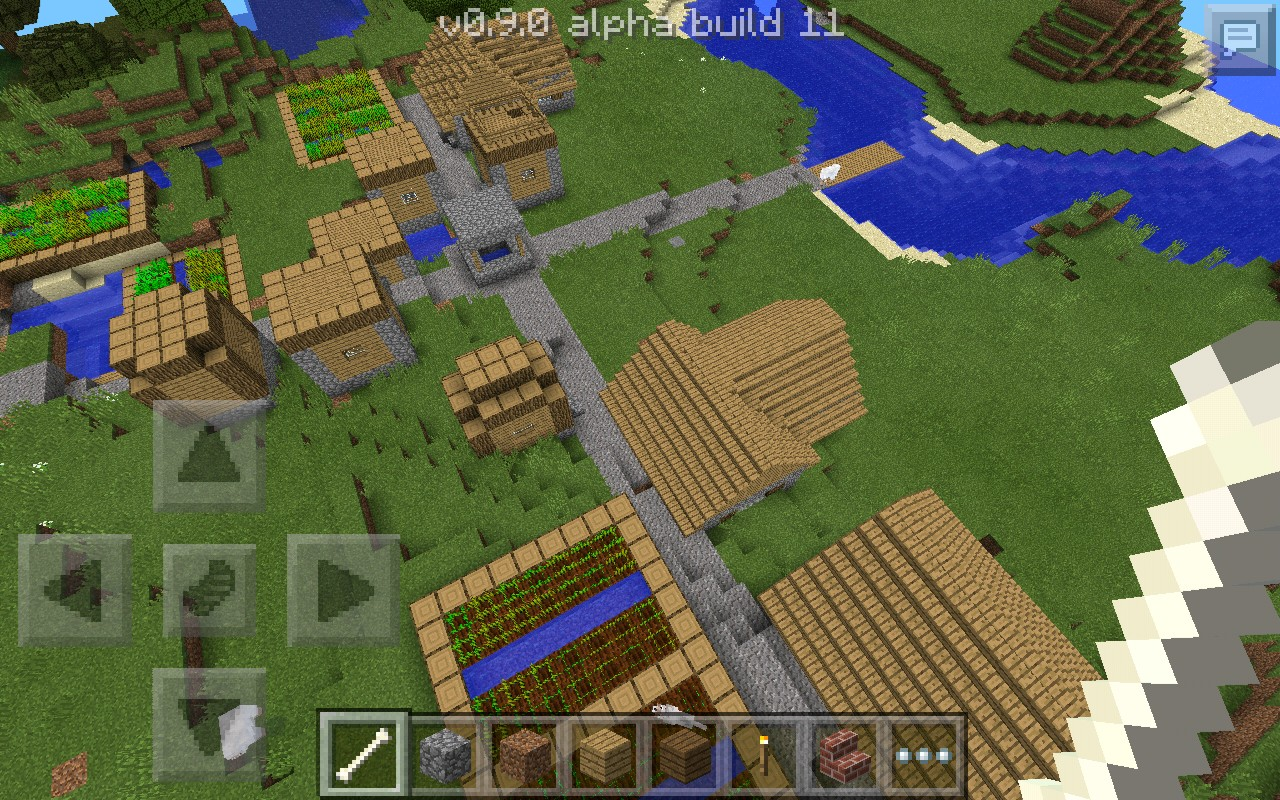 Mcpe V090 Village Seed Minecraft Blog