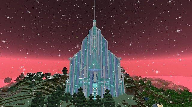 Elsas Ice Palace Minecraft Project