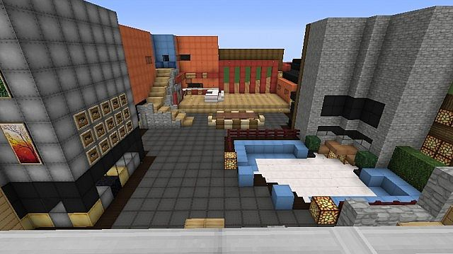 Big Brother Canada Season 1 House Minecraft Project