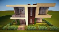 Modern House 20x20 Minecraft Project
