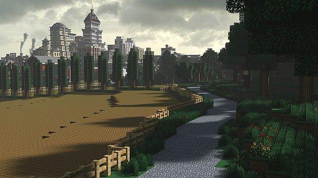 Chebucto City Series Farmland Minecraft Project