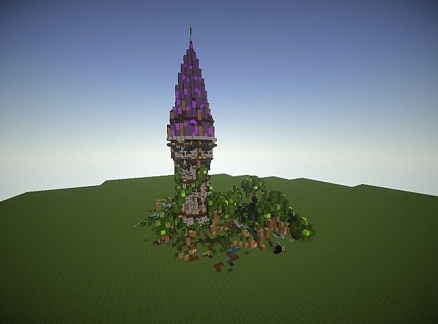 Witches Tower Minecraft Project
