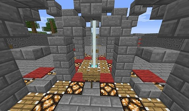 Simple Hub For Servers Minecraft Map