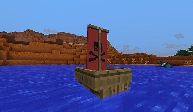 Sailing Boat Vanilla Minecraft Minecraft Project