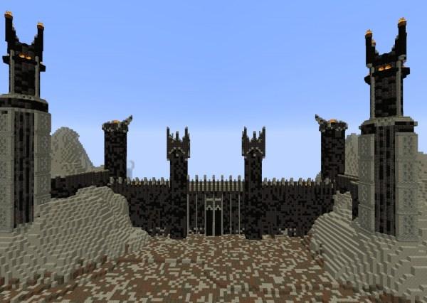 Black Gate of Mordor Minecraft Project