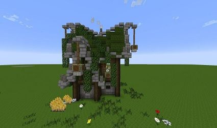 How to build a small elven/medieval house
