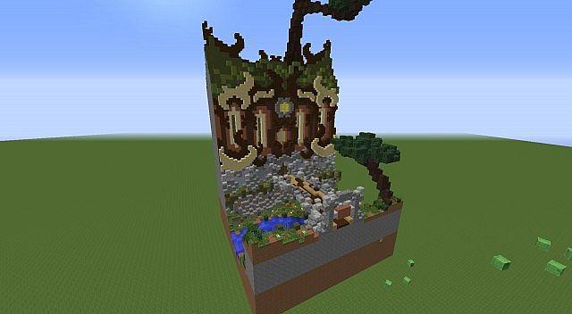Minecraft Small Fantaisy Plot Minecraft Project
