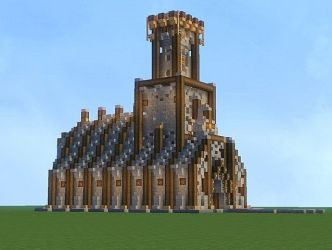 cathedral minecraft keyboard arrow right diamonds