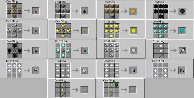 BetterToolsAndArmorMod [Forge 1.7.2][HUGE UPDATE: SHIELDS