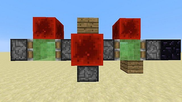 2 Way Flying Machines No Replacing Blocks Minecraft Project